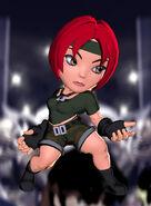 Regina alt costume Puzzle Fighter