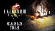 FINAL FANTASY VIII Remastered – Official Release Date Reveal Trailer (Closed Captions)