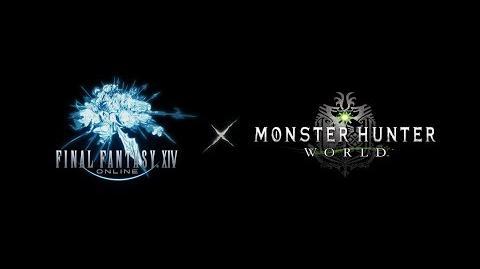Final Fantasy XIV x Monster Hunter World Collaboration Teaser Trailer