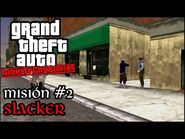 Slacker - GTA Liberty City Stories PSP - Misión -2 (Español-Sin Comentario)