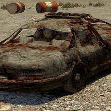 Coche de policia destruido GTA IV.png