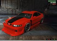 Dominator ASP tuneado GTA Online