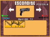GTA A Escondite Pistola.PNG