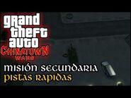Pistas Rapidas - GTA Chinatown Wars PSP (Español-Sin Comentario) Guía para el 100%