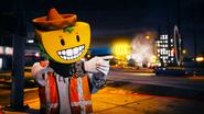 Jugador online con la Up-N-Atomizadora