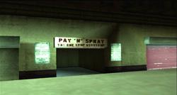 Pay 'n' Spray Newport GTA LCS PS2