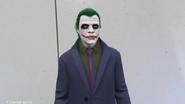 Jugador Online vestido como El Joker