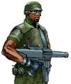 Artwork de un miembro de la Milicia de Anywhere City