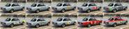 MichellI GT GTA Online Capas de pintura atrás