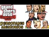 Personajes aleatorios de Grand Theft Auto: Chinatown Wars