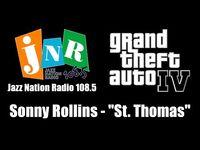 "GTA IV (GTA 4) - Jazz Nation Radio 108.5 - Sonny Rollins - ""St"