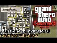 Transfender Invitational (Carreras Callejeras) - GTA Chinatown Wars PSP (Español-Sin Comentario)