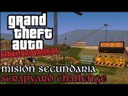 Scrapyard Challenge - GTA Liberty City Stories PSP (Español-Sin Comentario) Guía 100%
