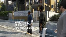Franklin y Lamar - Michael dando indicaciones