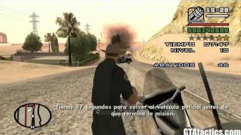 GTA San Andreas - Misiones de Vigilante (12 Niveles) - Vigilate Missions