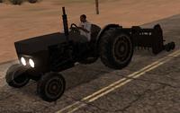 Tractor cosechadora SA