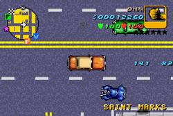Yardie versión final GTA Advance