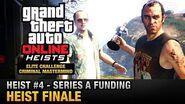 GTA Online Heist -4 - Series A Funding - Heist Finale (Elite Challenge & Criminal Mastermind)