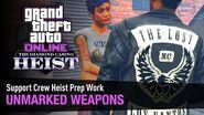 GTA Online The Diamond Casino Heist - Heist Prep-Golpe al Casino The Diamond - Armas Ilegales