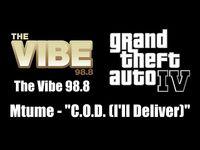 """GTA IV (GTA 4) - The Vibe 98.8 - Mtume - """"C.O.D"""
