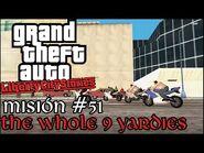 The Whole 9 Yardies - GTA Liberty City Stories PSP - Misión -51 (Español-Sin Comentario)
