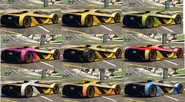Pinturas del Tezeract GTA Online atrás