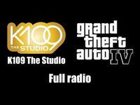 GTA IV (GTA 4) - K109 The Studio - Full radio