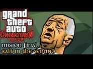 Salt in the Wound - GTA Chinatown Wars PSP - Misión -63 (Español-Sin Comentario)