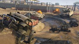 """GTA Online - Modo Adversario """"Caza de Rhinos""""4"""