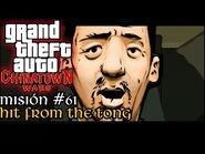 Hit from the Tong - GTA Chinatown Wars PSP - Misión -61 (Español-Sin Comentario)