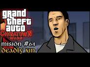 Deadly Xin - GTA Chinatown Wars PSP - Misión -64 (Español-Sin Comentario) Misión Extra