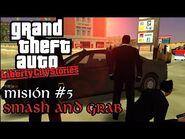Smash and Grab - GTA Liberty City Stories PSP - Misión -5 (Español-Sin Comentario)
