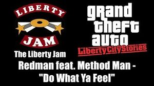 GTA Liberty City Stories - The Liberty Jam Redman feat