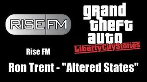 "GTA Liberty City Stories - Rise FM Ron Trent - ""Altered States"""