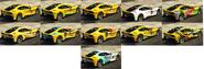 Itali GTO Pinturas atrás GTA Online