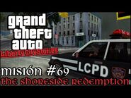 The Shoreside Redemption - GTA Liberty City Stories PSP - Misión -69 (Español-Sin Comentario)