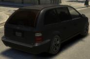 Minivan detrás GTA IV