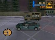 Claude destruyendo uno de los camiones en scando la colada