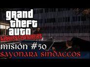 Sayonara Sindaccos - GTA Liberty City Stories PSP - Misión -50 (Español-Sin Comentario)