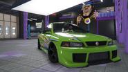 Sultan RS Classic tuneado GTA Online