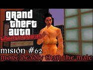More Deadly Than The Male - GTA Liberty City Stories PSP - Misión -62 (Español-Sin Comentario)