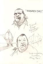 Boceto Díaz 2