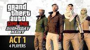 GTA Online- Doomsday Heist Act -1 with 4 Players (Elite & Criminal Mastermind IV)