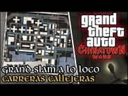 Grand Slam a lo Loco (Carreras Callejeras) - GTA Chinatown Wars PSP (Español-Sin Comentario) 100%