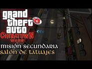 Salon de Tatuajes - GTA Chinatown Wars PSP (Español-Sin Comentario) Guía para el 100%