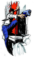 Artwork Gunman on Truck