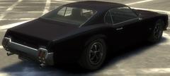Sabre GT detrás GTA IV