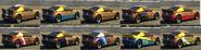 GB200 Pinturas GTA Online atrás