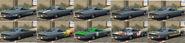 Impaler pinturas atrás GTA Online