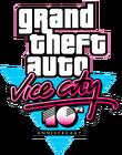Logo GTA VC Décimo Aniversario.png